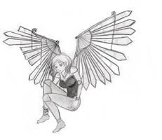 Fake- Broken angel by KuroSuzuNeko