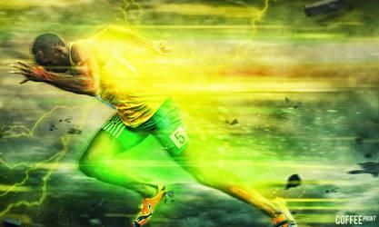 Usain Bolt -Lightning Bolt- by sirpsychosexy8