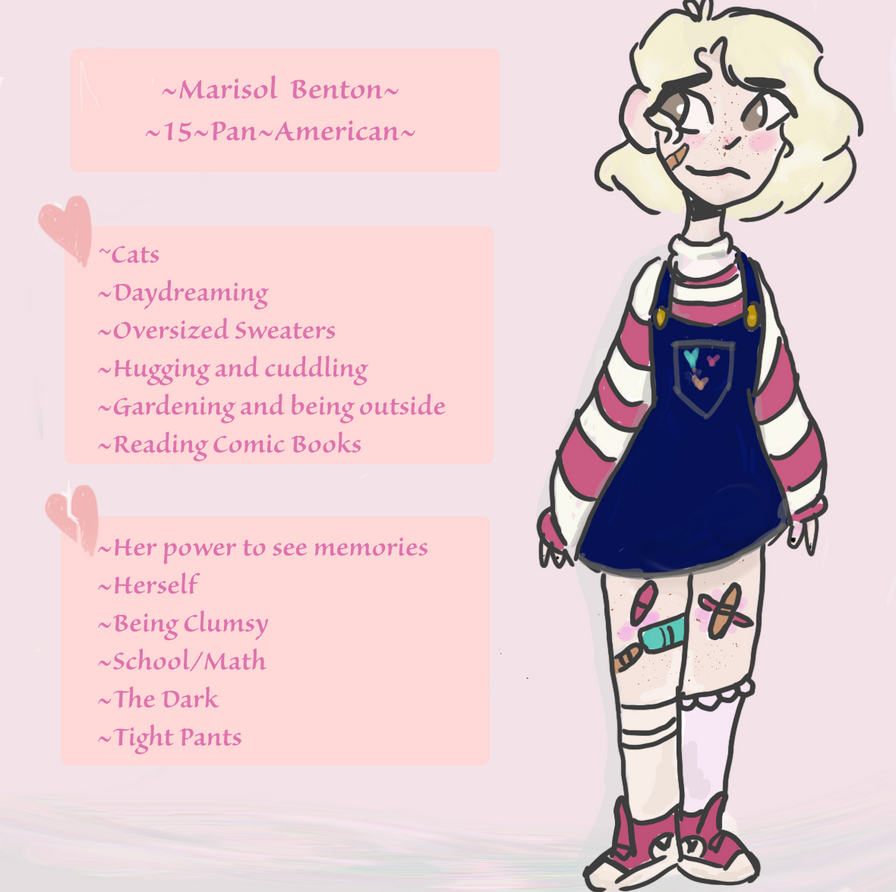 A Relatively Professional Reference Sheet by TheOrignalFangirl