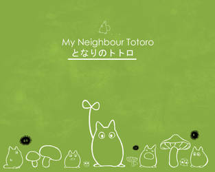 Totoro Wallpaper by MyScarredHeart