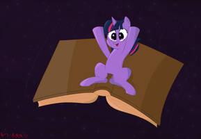 ATG DAY 20 - Space Book by TheDarkSatanicorn