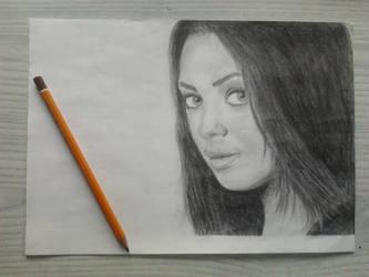 portrait by qamill