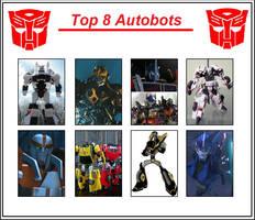 Top 8 Autobots by Autopunk