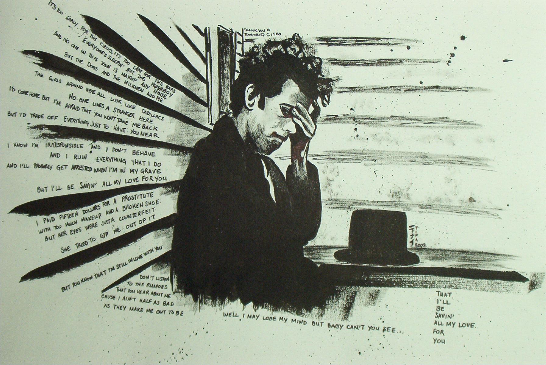 Tom Waits by Perplexity66 on DeviantArt
