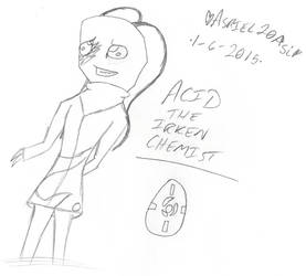 = Acid the Irken Chemist = by Asriel20Asi