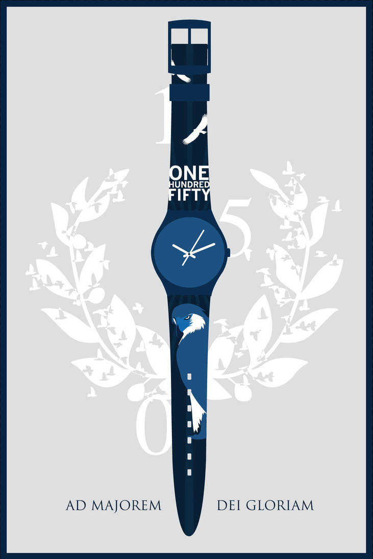 swatch watch design by tsok