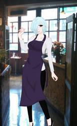 Touka Kirishima - Tokyo Ghoul:re by OwOCrystalCatOwO