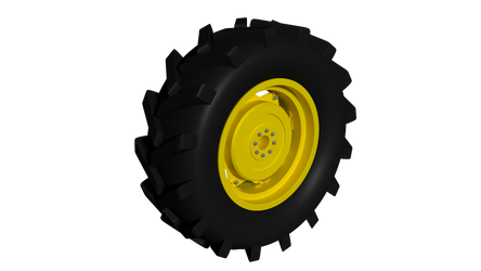Tractor Tire Hires by stuckinawhile