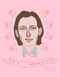 Wes Anderson by HolaCoyote