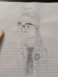 Jemma Simmons  by Maryannefan