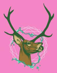 Bubblegum Deer by sonsofvolo