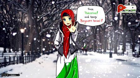 Free Palestine ! by Uwezu93
