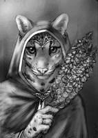 Foxglove - sketch by PanHesekielShiroi