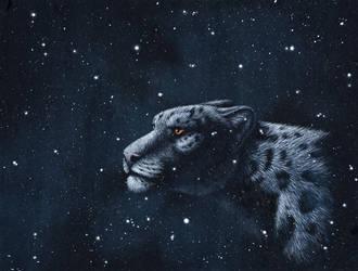 Among the stars by PanHesekielShiroi