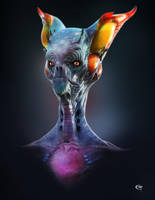 Alien Civilisation by chalian54
