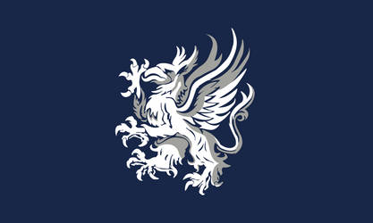 Flag of the Grey Wardens (Dragon Age) by ScarlettRose93
