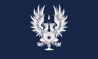 Flag of the Grey Wardens (Dragon Age II) by ScarlettRose93
