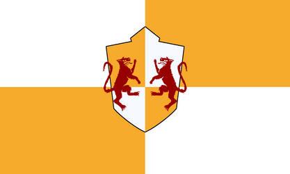 Flag of the Kingdom of Ferelden (Dragon Age) by ScarlettRose93