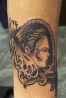 Cameo tattoo by takkless