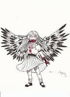 My Raven-Winged Angel by takkless