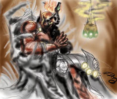 WIP Digi painting by takkless
