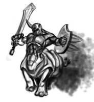 Rhinotaur by takkless