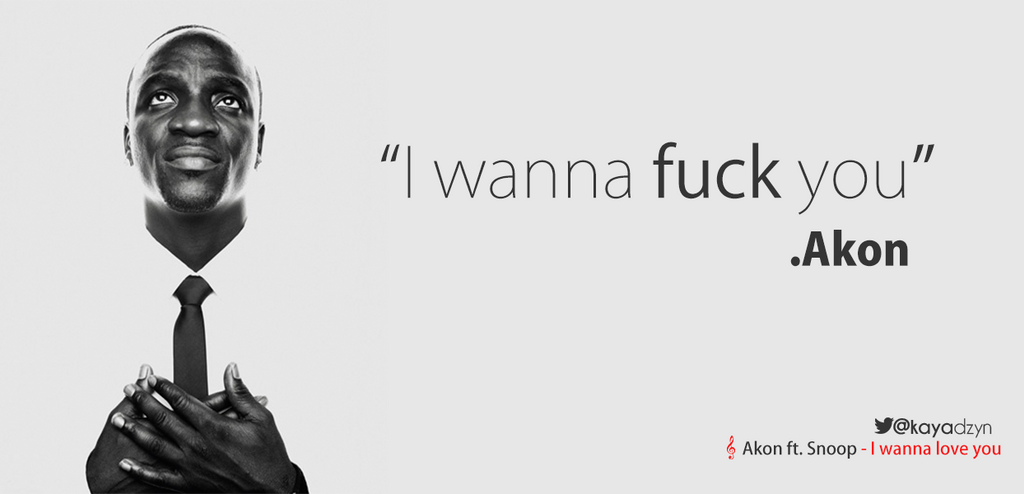 Akon i wanna fuck you galleries 923