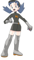 Kris Team Rocket Outfit by Morki95