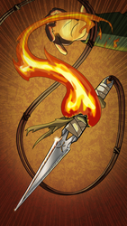 IK Cards: Fire Dart by puttin-on-the-Ritz