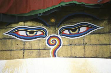 buddha eyes by footeprint