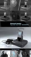 Generic Bluetooth Headset by PixelPirate
