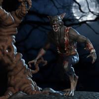 Werewolf by PixelPirate