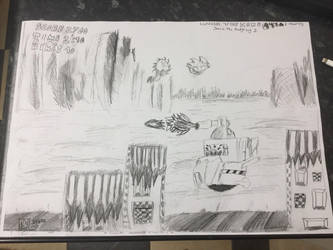 Hill Top Zone [Drawing] by ThomasTheHedgehog888