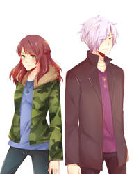 Kazashi and Subaru by annJu-chan