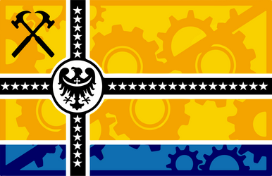 The Confederacy of Silesian People's Republic Flag by nwn9