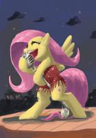 Fluttershy Sings Jazz by DocWario