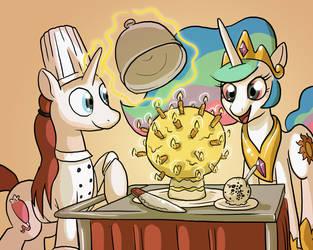 Sun Cake by DocWario