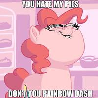 Pinkietober 25 - Hate My Pies by DocWario
