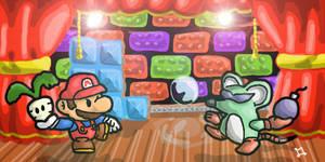 Paper Mario Brothers 2 by DocWario