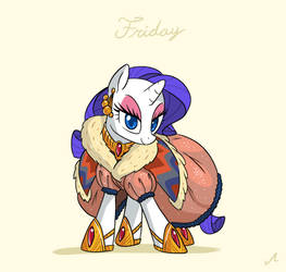 Raritober 26 - Friday by DocWario