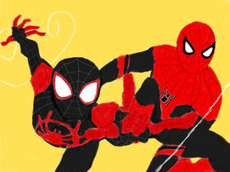 Miles and Peter by homer311