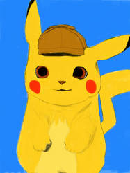 Detective Pikachu by homer311