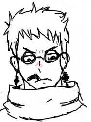 Shiro (Blue exorcist) sketch by TurtlezRok