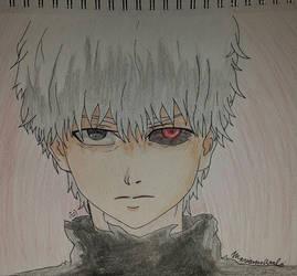 Kaneki Ken (Tokyo Ghoul) by TurtlezRok