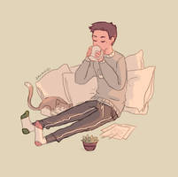 tea break by Jaynirec