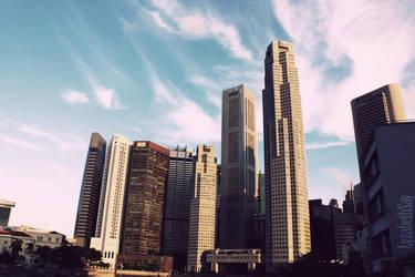City Sky by LyzabethSay