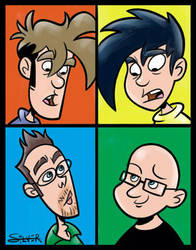 Penny Arcade by stephensilver
