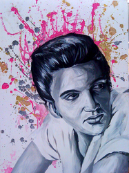 elvis by carizzle