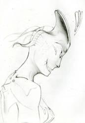 Demon Sketch by qabas121