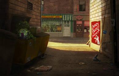 Dumpster Monster by gagatka27